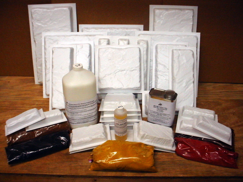 29 Mold Castle Stone Kit & Supplies Make Stone for Pennies!
