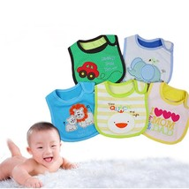 Cartoon Printed Feeding Baby Bibs - $7.00+