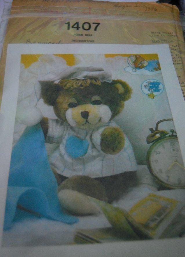 1407 teddy beddy bear