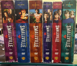 Smallville - The Complete First Six Seasons DVD image 4