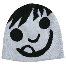 Neff White Black Happy Emoij Smiley Beanie Winter Hat