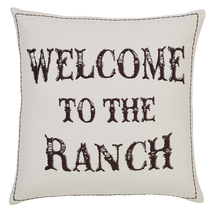 """Western Ranch Deluxe Pillow Set - 8 Pieces 18x18"""""""