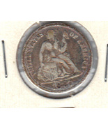 1887 Liberty Seated Dime - £7.65 GBP