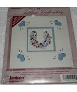 Janlynn~Ribbon Embroidery~HORSESHOE~with 2 bevel-cut mats - $4.99