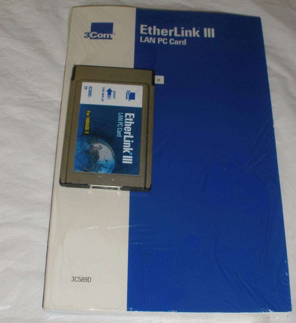 3com earthlink card  book