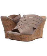 Women's UGG® Marta High Wedge Sandals, 1015079 Sizes 6.5-11 Horchata Aut... - $99.95