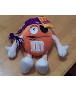 "2002 9"" Poseable Crispy M&M Pirate Plush Doll - $3.99"