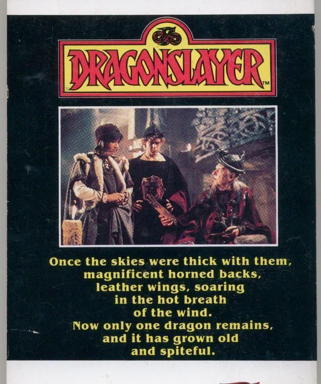 DRAGONSLAYER - 1981 - color Marvel comics movie adaptation
