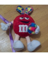 """2004 10"""" Poseable M&M Easter Bunny Plush Doll - $3.99"""
