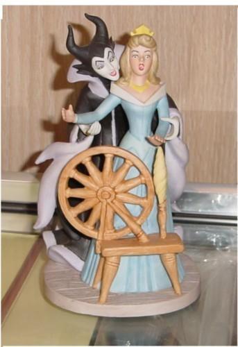 Disney Sleeping Beauty Villain rare Figurine