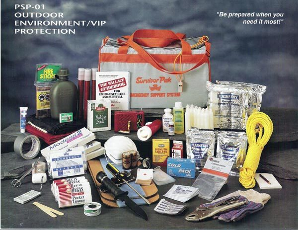 Outdoor kit large