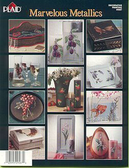Marvelous Metallics Folk Art Painting Book
