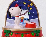 Keepsake 2018 A Charlie Brown Christmas Snoopy Ornament With Sound and Light