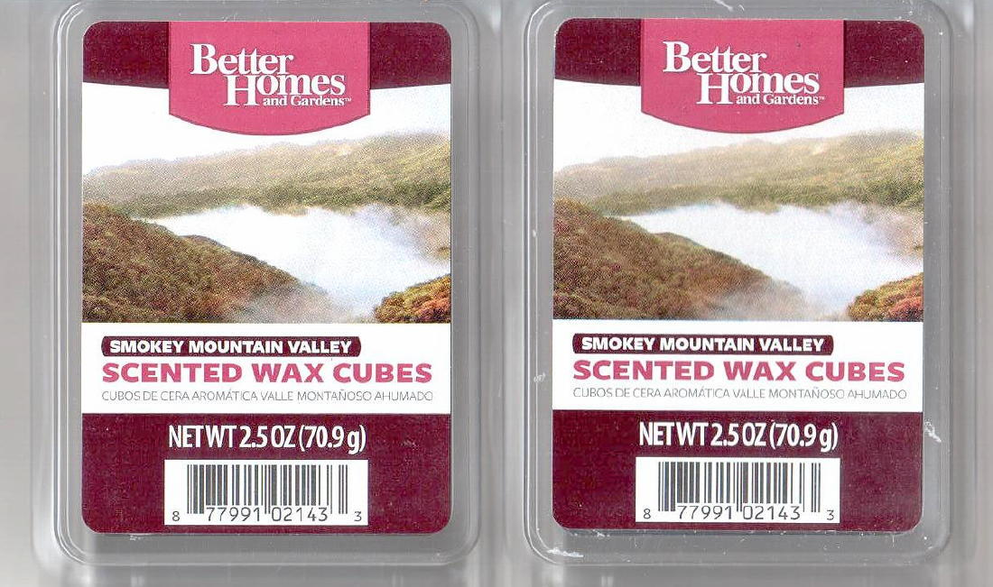 Smokey mountain valley better homes and gardens scented - Better homes and gardens scented wax cubes ...