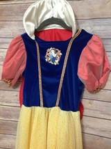 DISNEY STORE Snow White Deluxe Dress Up Pretend Play Girls sz 8 / 10  W/... - $29.69
