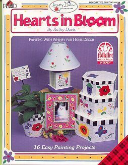 Hearts in Bloom Paint Book~Kathy Davis