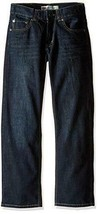 NEW KIDS LEVIS BLUE JEANS 505 REGULAR STRAIGHT LEG 91R505 D04 SIZE 14 27... - $22.22