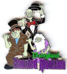 Disney DL-  Haunted Mansion Hitchhiking Ghosts pin/pins