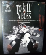 Bepuzzled Jigsaw Puzzle 1994 To Kill A Boss A Mystery Thriller Alan Robbins - $10.99