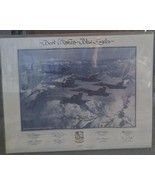 Nice Vintage Blue Angels 1989 Collectible Poster - Personalized - GREAT ... - $39.59