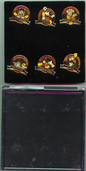 Disney  Mickey Olympic  rare set of  6  pin/pins