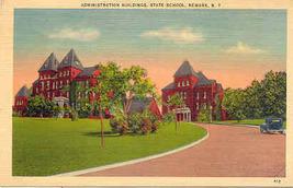 State School Newark New York Vintage 1953 Post Card - $3.00