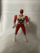Vintage Bandai 1998 Power Ranger Lost Galaxy Red Ranger Action Figure Sz... - $15.88