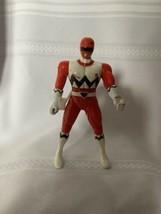 "Vintage Bandai 1998 Power Ranger Lost Galaxy Red Ranger Action Figure Sz 5.50"" - $15.88"
