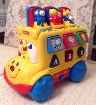 Fisher Price Baby Smartronics Nursery Rhymes Bus - 71656, Rolling Pop-Up... - $8.55