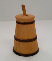 vintage Jasco collectible porcelain butter churner shaped bell - $9.89