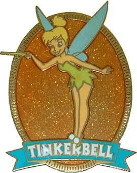 Disney  Tinkerbell Glitter Series Pin/Pins