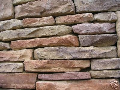 86 LEDGESTONE VENEER MOLDS MAKE TO 1000s OF INDIVIDUAL STONES FOR PENNIES EACH!