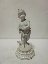VINTAGE MUSEUM COPY OF GREECE BOY CHILD RUNNING STATUE # 7225 - $9.99