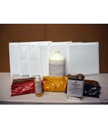 12x12 RUSTIC TILE MAKING KIT w/6 MOLDS & SUPPLIES CRAFTS 100s OF TILES @... - $179.95