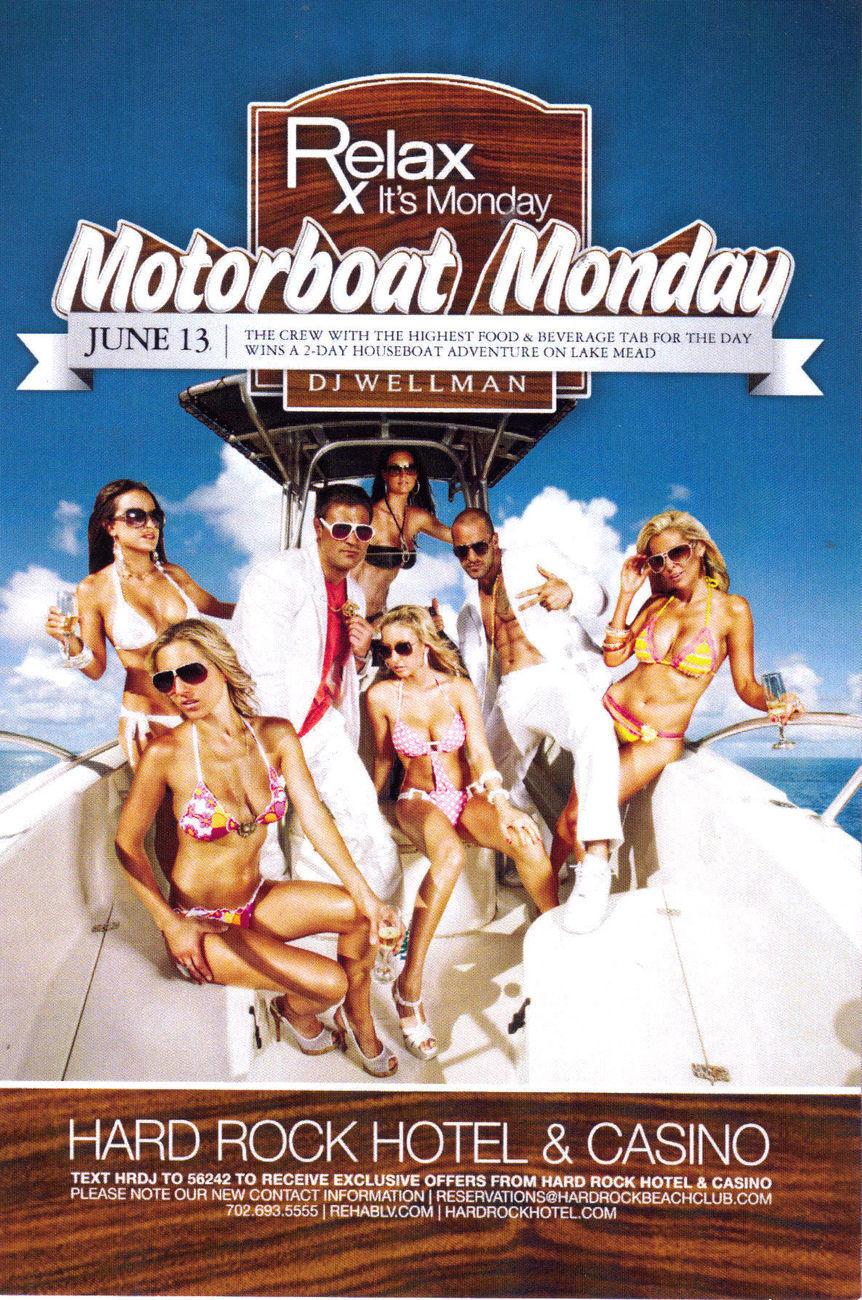 Hrh motorboat monday