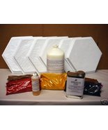 SIX MOLD SUPPLIES KIT TO CRAFT 100s OF 12x12 HEXAGON SLATE TILES FOR $0.... - $179.95