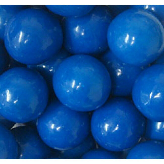 GUMBALLS BLUE 25mm or 1 inch (285 count), 5LBS - $32.30