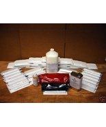 #0923 ANTIQUE BRICK VENEER KIT- 30 MOLDS, SUPPLIES, INSTRUCTIONS - FREE ... - $219.95