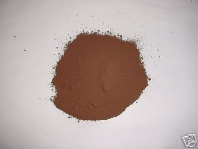 338-01 Chocolate Brown Concrete Powder Color 1 Lb. Makes Stone Pavers Tile Brick