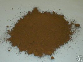 385-01 Umber Brown Concrete Powder Color 1 Lb.. Makes Stone Pavers Tiles Bricks image 1