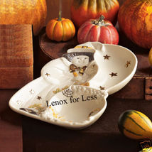 LENOX Witch Divided Server Tray/Dish RETIRED - $17.99