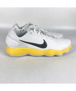 Nike Hyperdunk 2017 Low TB Shoes Men's size 14.5 White Yellow Lakers 942... - $93.11