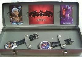 Batman Mr Freeze Watch 1997 Fossil Batman - Mr. Freeze 2 Limit Edition D... - $138.55
