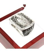 2016 Fantasy Football Championship Ring  - Silver Size 11 with wooden box - $35.00