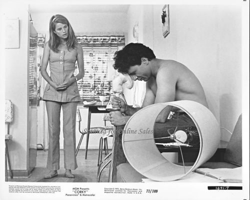 Corky Robert Blake Charlotte Rampling 8x10 Photo