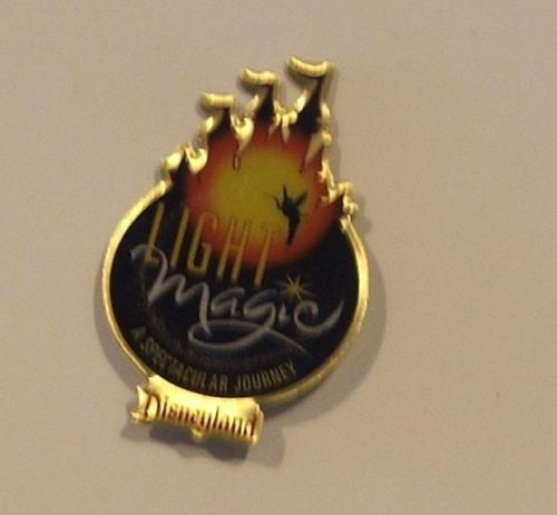 Disney 1997 Disneyland DLR Light Magic Spectacular Journey Pin