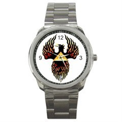 PHOENIX RISING MASONIC MASONIC SPORTS WATCH - NICE!