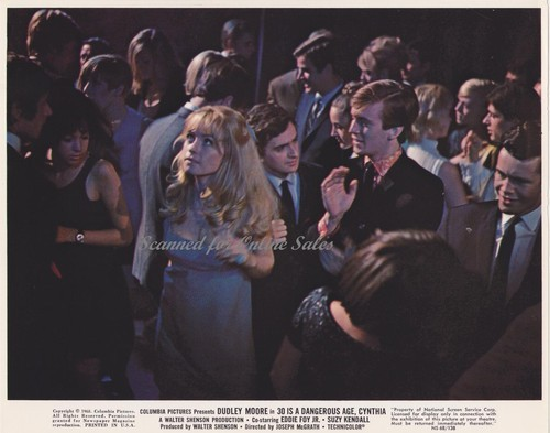 Primary image for Dudley Moore 30 is a Dangerous Age Cynthia Lobby Card