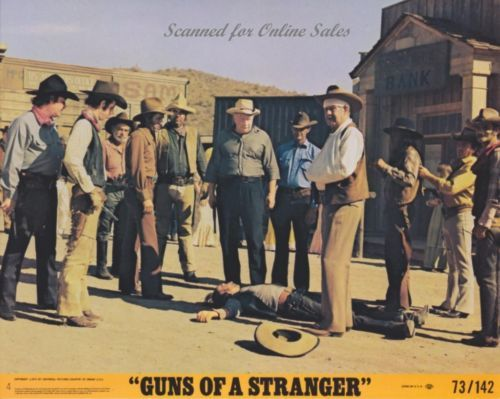 Guns of a Stranger Marty Robbins Chill Wills 8x10 Lobby Card No. 4