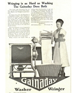 1936 Gainaday Washer & Wringer print ad - $10.00